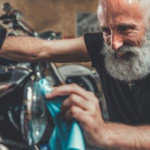 Harley Davidson reinigen