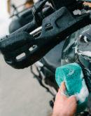 Reiniger für Motorrad